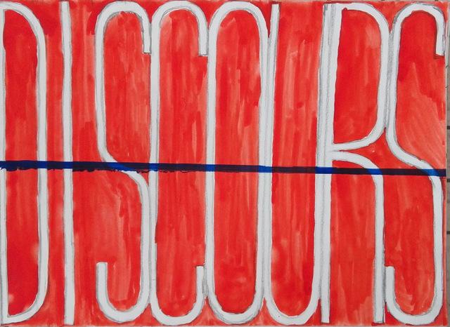 Klaas Vanhee, 'DISCOURS', 2019, Galería silvestre
