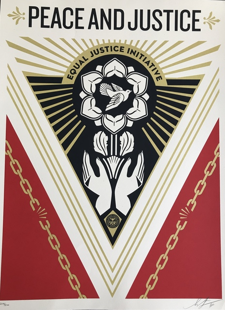Shepard Fairey, 'Peace & Justice Summit', DIGARD AUCTION