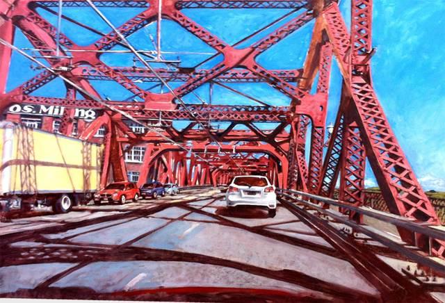 , 'Broadway Bridge,' 2015, J. Pepin Art Gallery