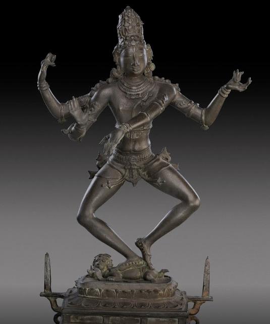 , 'Shiva,' Early Chola, AD 870 , 920, Jehangir Nicholson Art Foundation