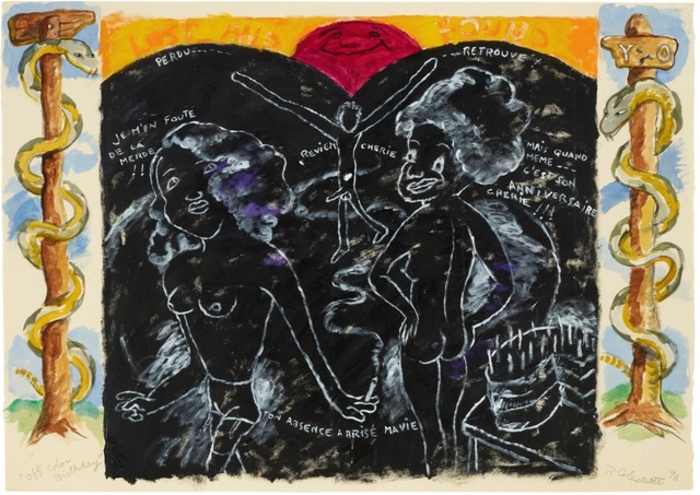 Robert Colescott, 'Off Color Birthday', 1996, Mark Borghi