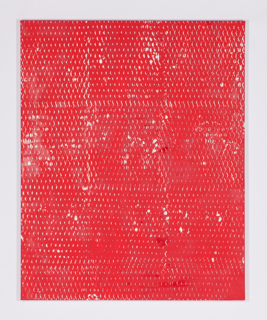 , 'Expanded Metal Painting 16,' 2017, Galerie Nikolaus Ruzicska