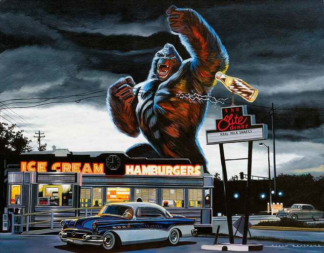 Alain Bertrand, 'Kong in the City', Catto Gallery
