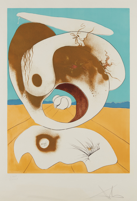 Salvador Dalí, 'Planetary and Scatological Vision, from Conquest of the Cosmos', 1974, Phillips