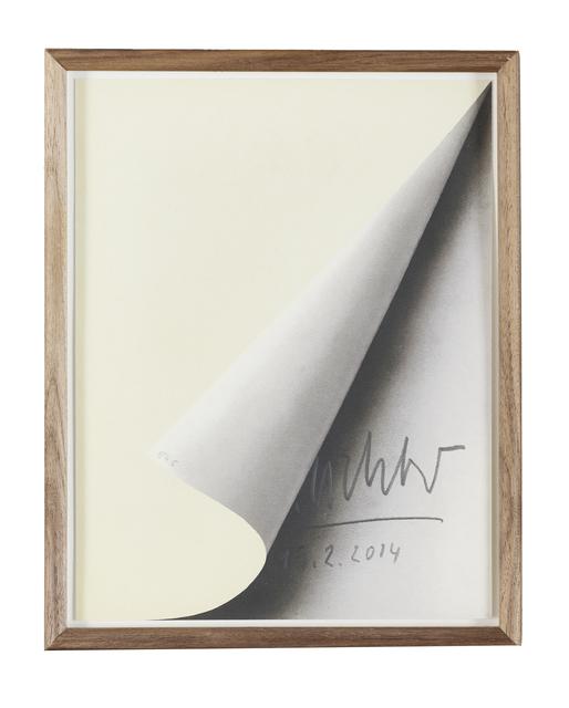 , 'Blattecke,' 1967/2014, Bode Gallery
