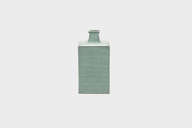 , 'Celadon bottle with inlaid stamped design,' 2004, Gallery LVS