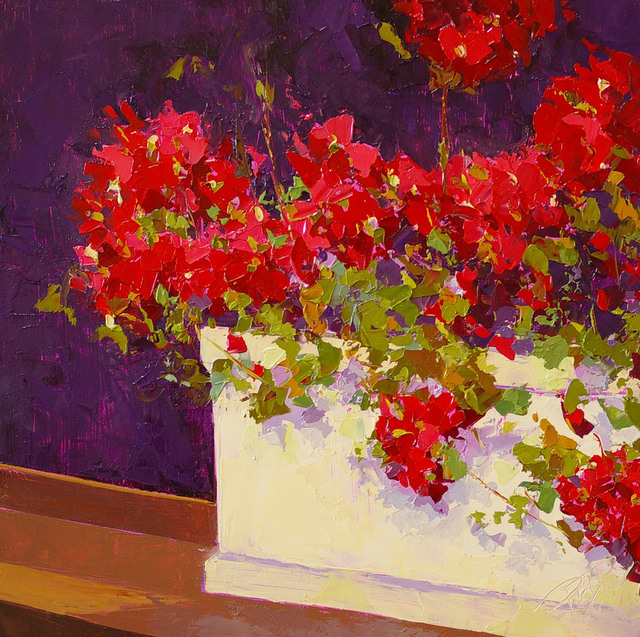 , 'Red Geraniums,' , Gallery 901