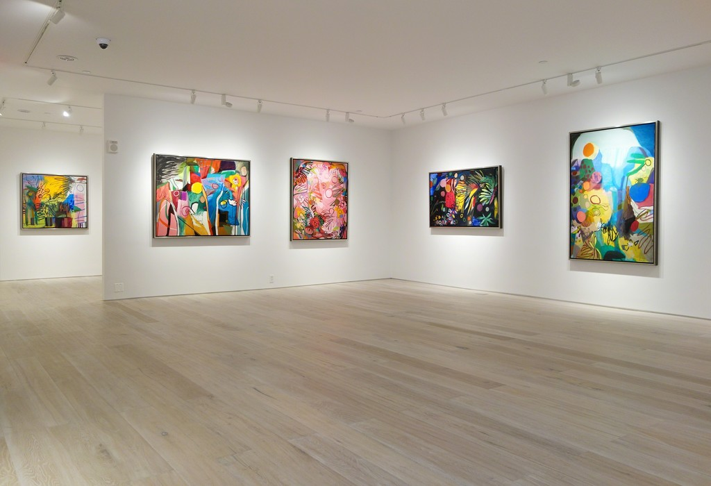 """Bill Scott: Imagining Spring"" - Installation view"