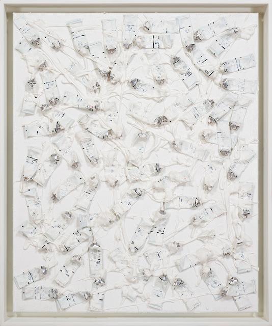 Arman (1928-2005), 'Monochrome Accumulation no. 4007', 1986-1989, CFHILL