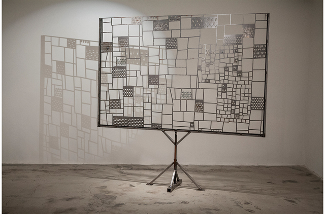 , 'FULL PATTERN BILLBOARD AT 1/2 SCALE,' 2013, Paul Loya Gallery