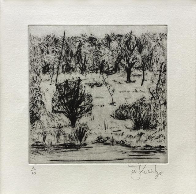 William Kentridge, 'Landscape', 1999, Jim Kempner Fine Art