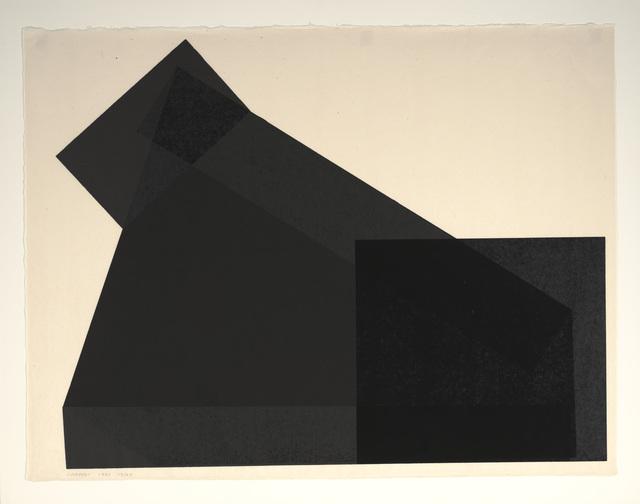 Joel Shapiro, 'JS-12', 1981, Dallas Museum of Art