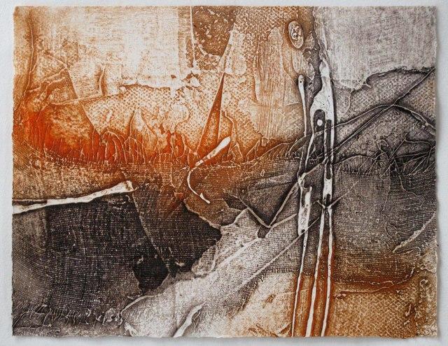 , 'Undercliff Series I,' 2014, Sydney Printmakers