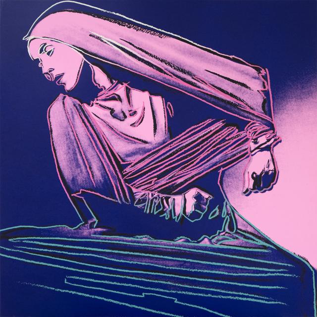 Andy Warhol, 'Lamentation #388 (from Martha Graham)', 1986, Heather James Fine Art