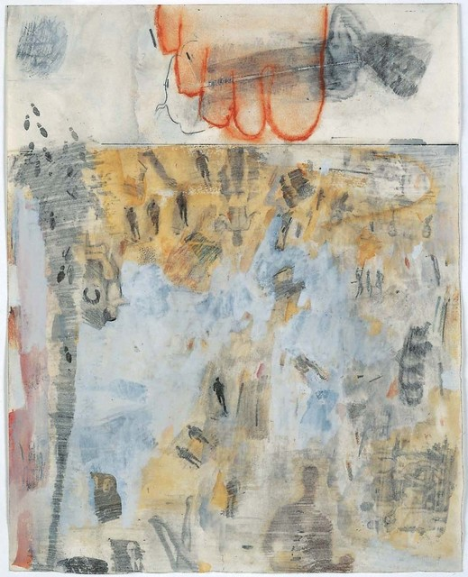 Robert Rauschenberg, 'Canto XIV: Circle Seven, Round 3, The Violent Against God, Nature, and Art, from the series Thirty-Four Illustrations for Dante's Inferno', 1959–60, Robert Rauschenberg Foundation