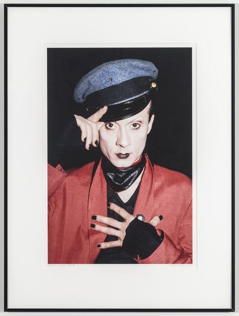 Marcia Resnick, 'Klaus Nomi', 1982, Johannes Vogt Gallery