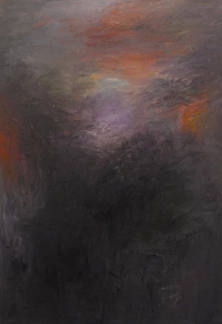 MD Tokon, 'Mountain and Sky', 2014, Painting, Acrylic on Canvas, Isabella Garrucho Fine Art