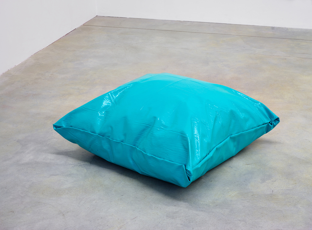 , 'Lazy Painting (Turquoise),' 2018, Taubert Contemporary