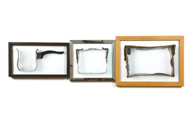 , 'De la serie ABC: l,m,n (lechero, marmita, necessaire),' 2011, GALERÍA PATRICIA READY