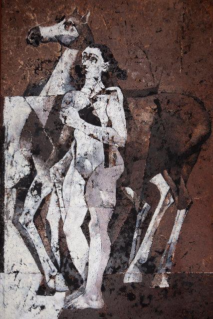 , 'Figure with Horse,' 2014, Albemarle Gallery | Pontone Gallery