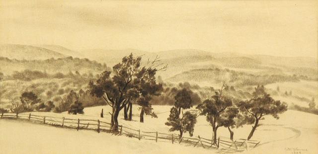 , 'Allegheny Range ,' 1938, ACA Galleries