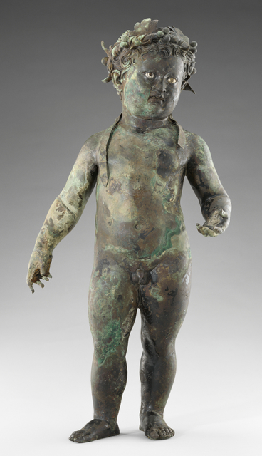 'Statue of the Infant Cupid',  first half of 1st century, J. Paul Getty Museum
