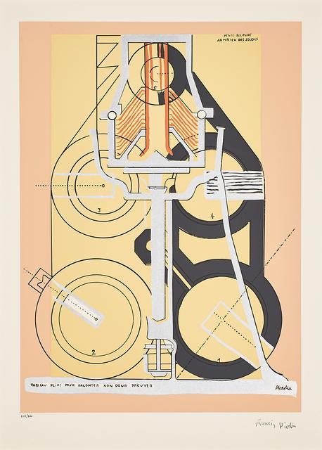 Francis Picabia, 'Petite Solitude au Milieu des Soleils', Print, Screenprint in colors, Rago/Wright