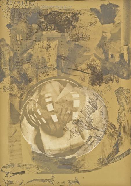 Robert Rauschenberg, 'Sack (Stoned Moon)', 1969, Print, Lithograph, San Francisco Museum of Modern Art (SFMOMA)