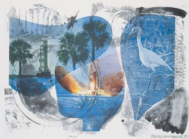 Robert Rauschenberg, 'Local Means (Stoned Moon),' 1970, Robert Rauschenberg Foundation