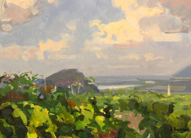 , 'View From Whately,' 2017, William Baczek Fine Arts