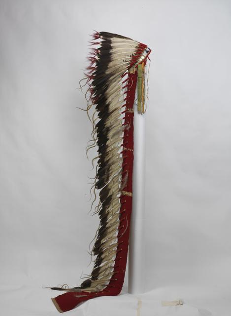 Unknown Artist, 'War Bonnet', 1876, Penn Museum