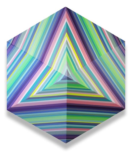 , 'Triangle Wave,' 2018, Newzones