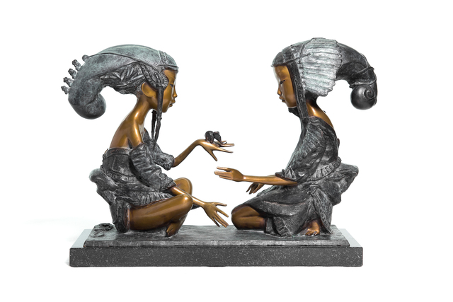 , 'Dialogue of Elements. Small,' 2017, OSTASHOV sculpture