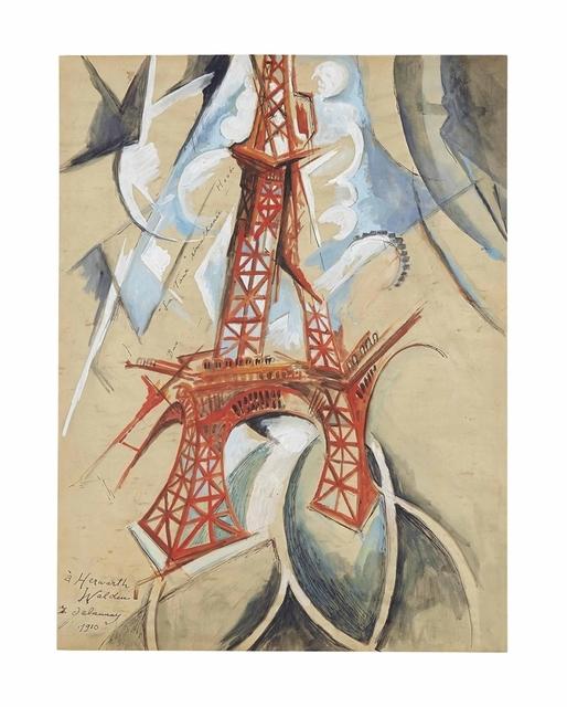 Robert Delaunay, 'La Tour simultanée', 1910-1911, Christie's