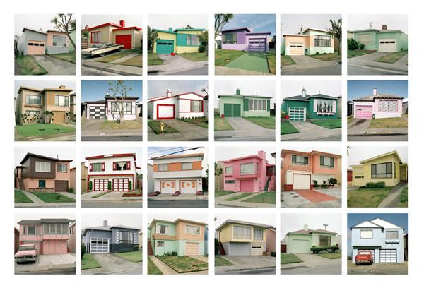 , 'Freshly Painted Houses Portfolio,' 1991, Robert Mann Gallery