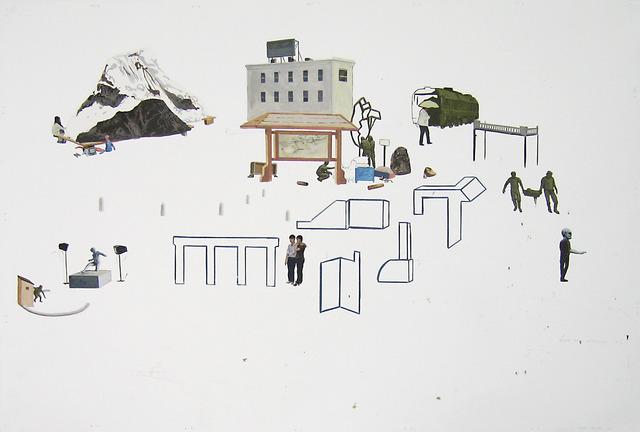 , 'Estudo para instalação #4,' , Carlos Carvalho- Arte Contemporanea