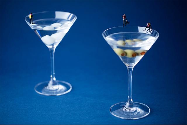 , 'Martini Divers,' 2016, Winston Wächter Fine Art