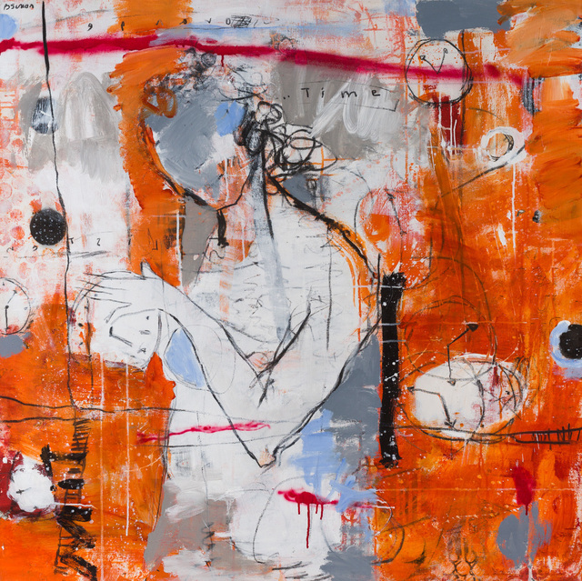 , 'Orange Time,' , Merritt Gallery