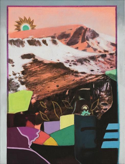 , 'The Turquoise Sun,' 2017, Tajan ArtStudio