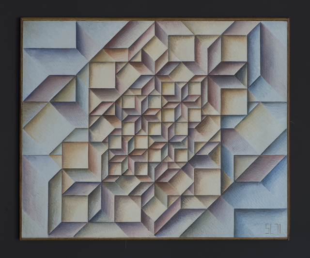 , 'Geometrical Grouping 210,' 1971, Jecza Gallery
