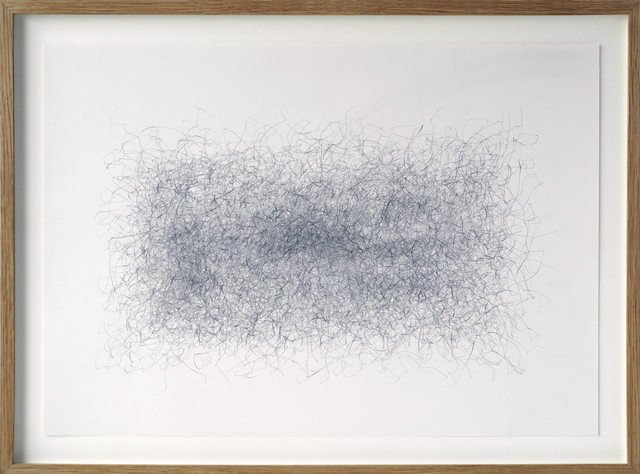 , 'Motordrawing (triangle - 684 rpm/tpm),' 2010, BERG Contemporary