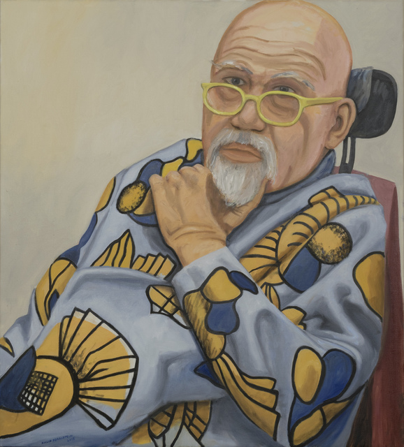 , 'Portrait of Chuck Close,' 2016, Betty Cuningham