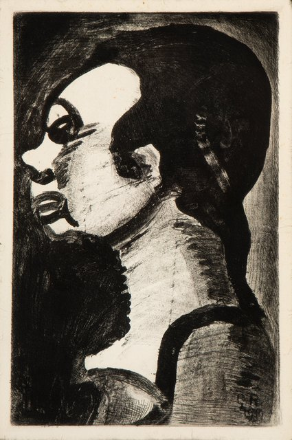 Georges Rouault, 'Hideous Woman (Femme hideuse)', 1928, Heritage Auctions