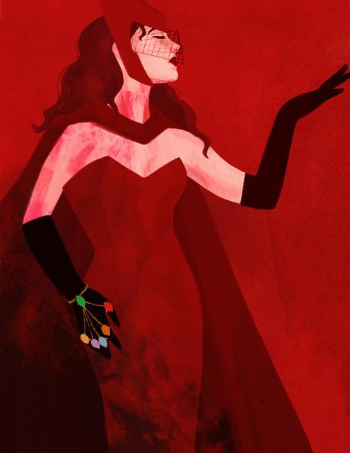 , 'Scarlet Witch,' 2018, Helikon Gallery & Studios
