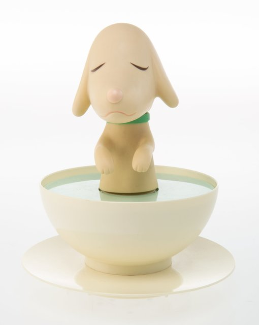 Yoshitomo Nara, 'Pup Cup', 2003, Sculpture, Injection molded and rotomolded plastic, Heritage Auctions