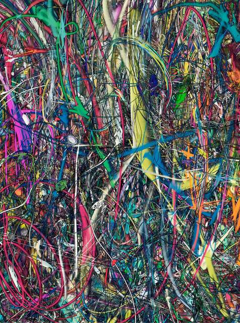 , 'Untitled (Lasso Painting #3),' 2016, Boca Raton Museum of Art
