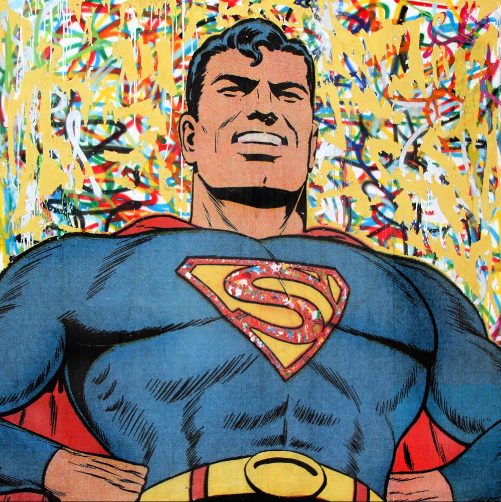 Mr. Brainwash | Superman, 2016