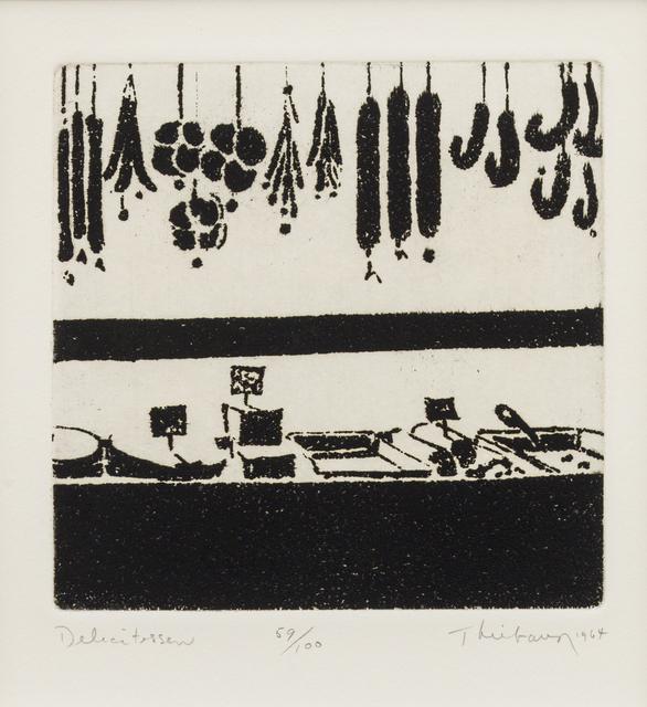 Wayne Thiebaud, 'Delicatessen', 1964, Susan Sheehan Gallery