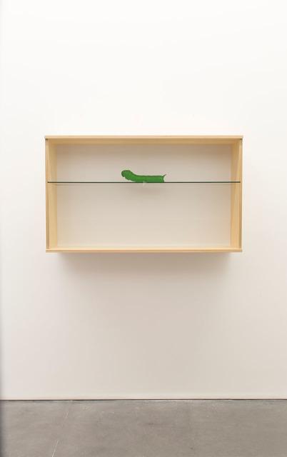 , 'Untitled (caterpillar),' 2017, Lia Rumma