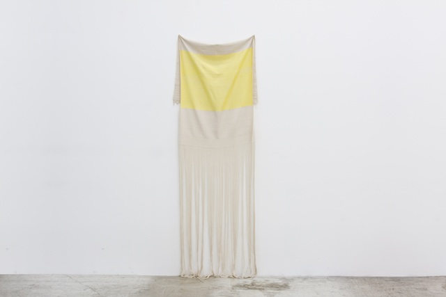 , 'Yellow Rayon with Canvas,' 2013, Emerson Dorsch